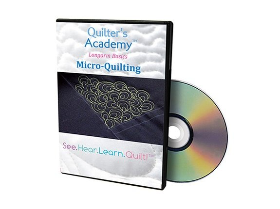 Quilters Academy DVD Micro-Quilting