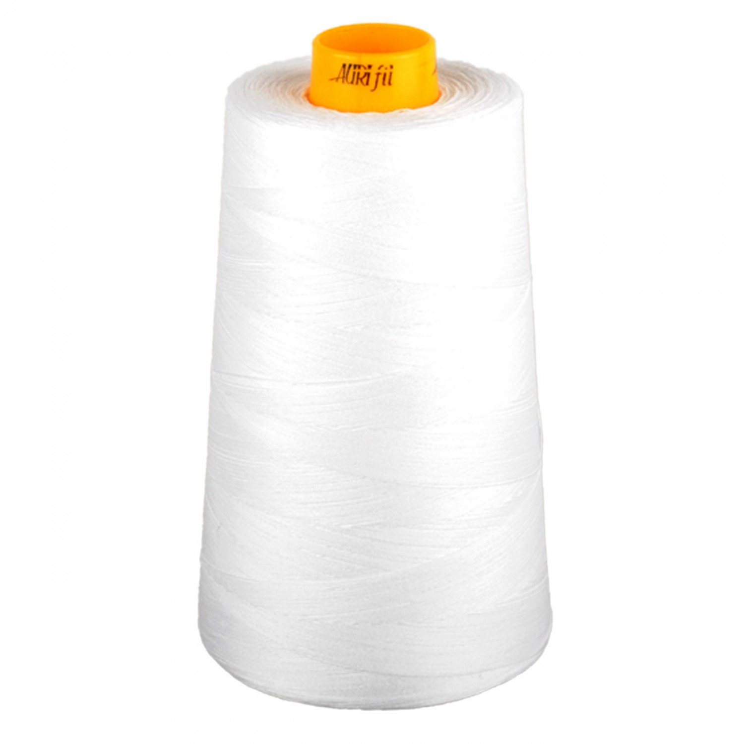 Aurifil Mako Cotton 3-ply Longarm Thread 40wt 3280 yd cone 2024 White