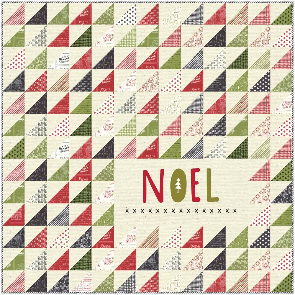 Noel Quilt Kit by Sweetwater for Moda