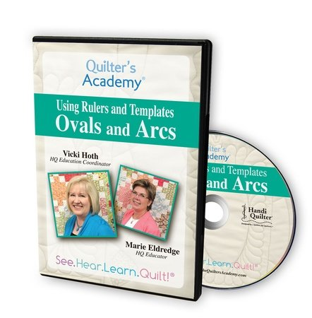 Ovals and Arcs: Using Handi Gadget's Oval and Arc Templates DVD