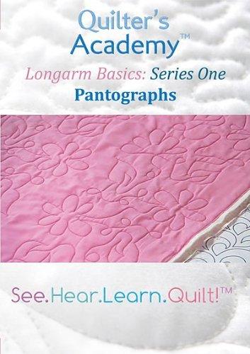 Longarm Basics DVD: Pantographs
