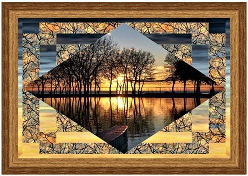 Sunrise & Sunset Quilted Wallhanging Kit