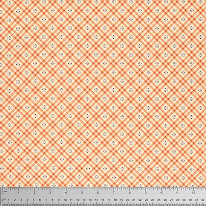 Eastham Fine Plaid Bittersweet PWDS101 BITTE by Denyse Schmidt for Free Spirit