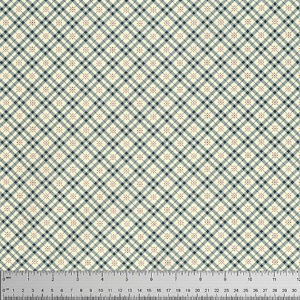 Eastham Fine Plaid Thistle PWDS101 THIST by Denyse Schmidt for Free Spirit
