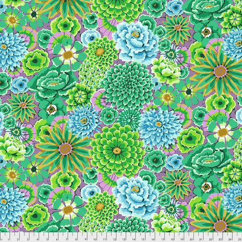 Kaffe Fassett Collective Enchanted PWGP172.GREEN from Free Spirit Fabric