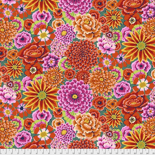 Kaffe Fassett Collective Enchanted PWGP172.REDXX from Free Spirit Fabrics