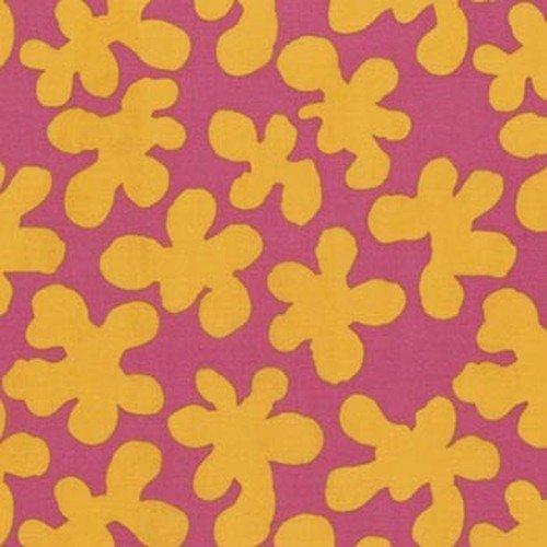Kaffe Fassett Artisan PWKF005.MAUVE Squiggle from Free Spirit Fabrics