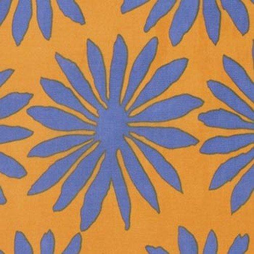 Kaffe Fassett Artisan PWKF006.SUNSH Gerbera from Free Spirit Fabrics