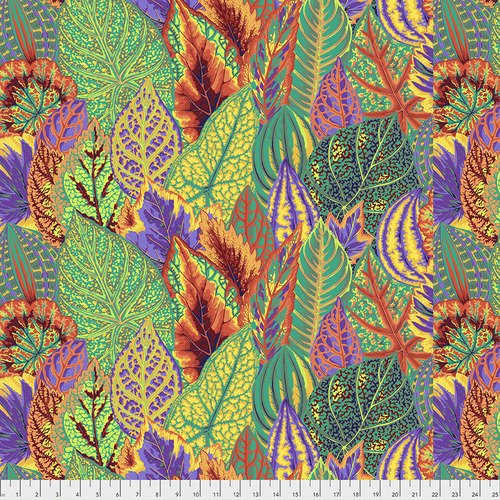 Kaffe Fassett Collective Coleus PWPJ030.GOLDX from Free Spirit Fabric