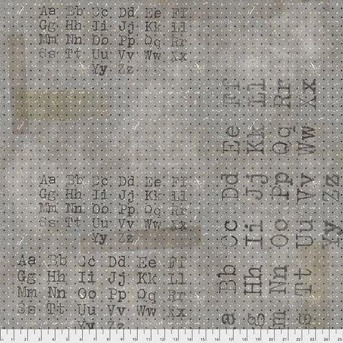 Memoranda PWTH096 Black Font  by Tim Holtz for Free Spirit