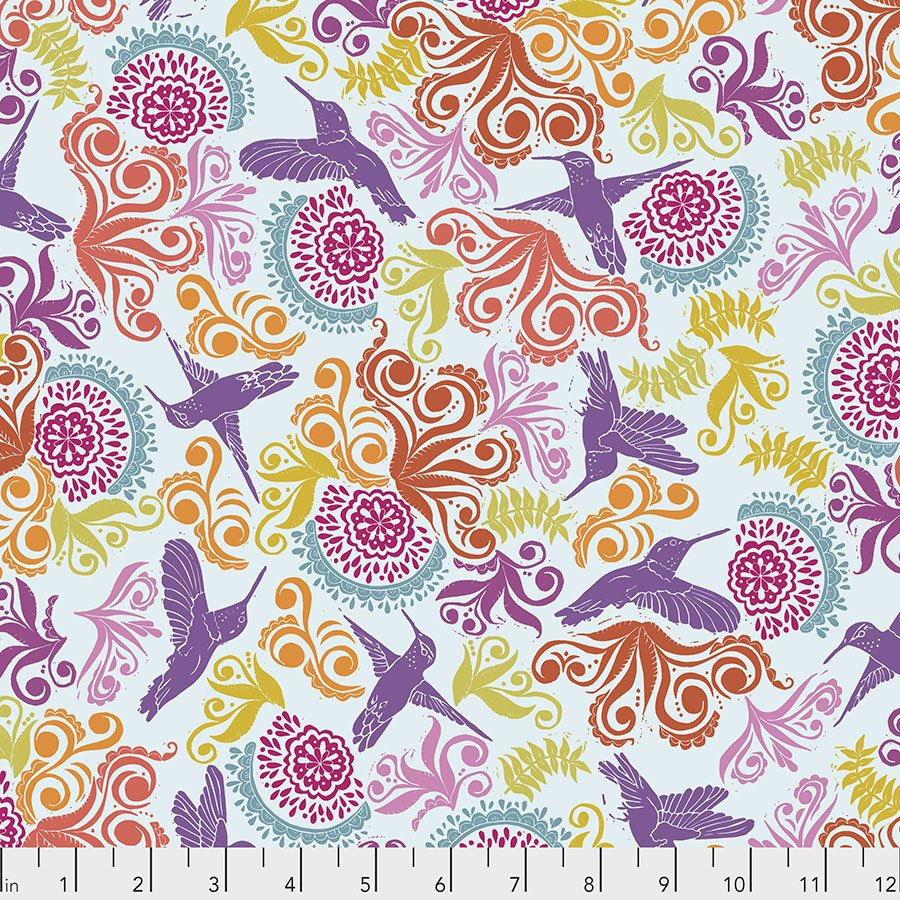 Murmur PWVW005.MULTI Garden by Valori Wells for Free Spirit
