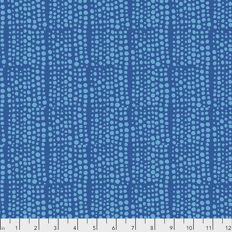 Murmur PWVW006.BLUE Dots by Valori Wells for Free Spirit