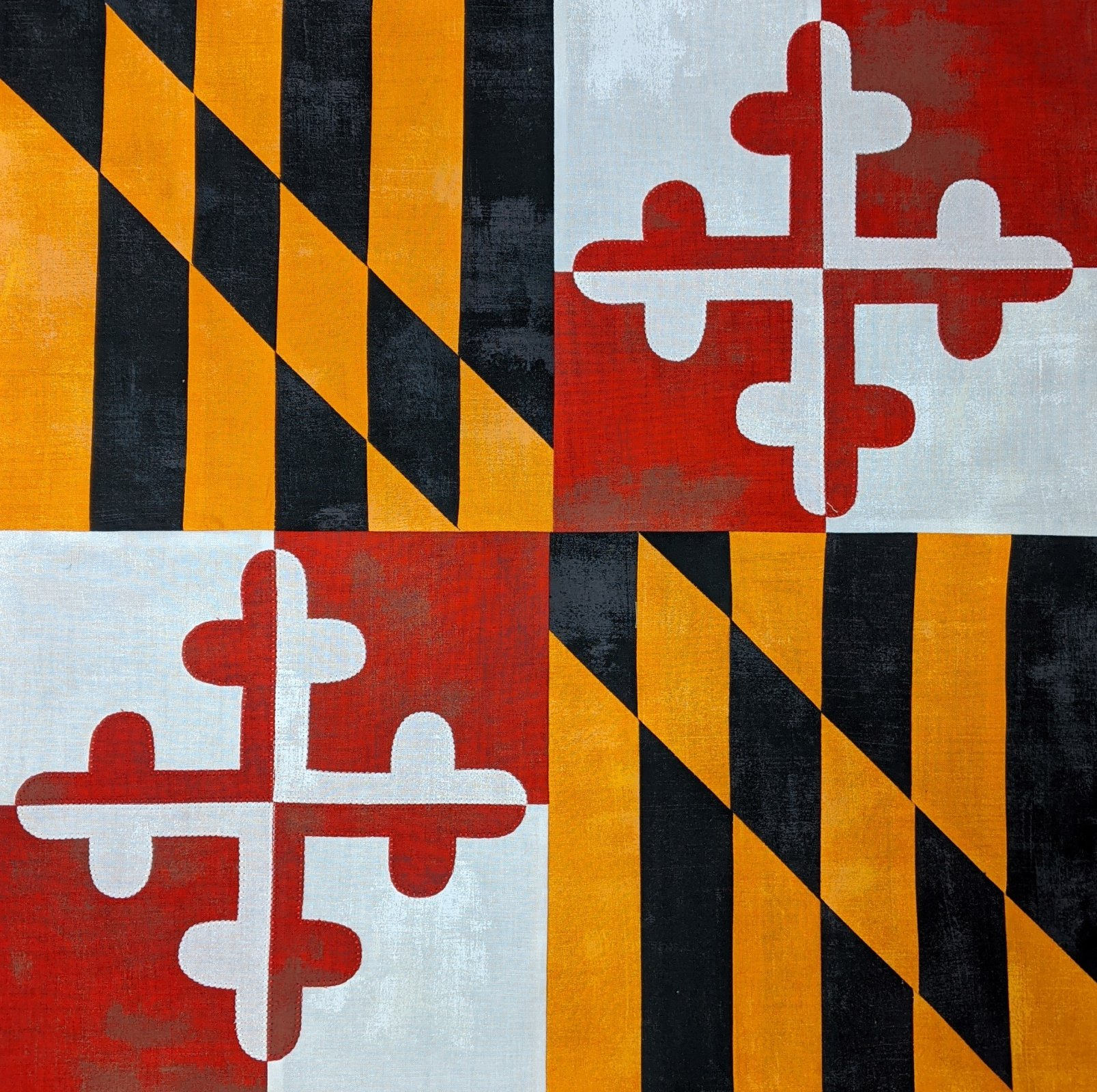 Maryland Flag Wallhanging or Table Topper Kit