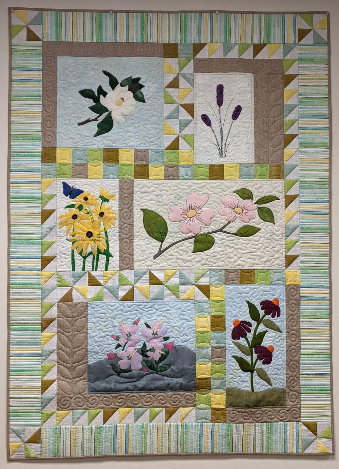 Spring on the Chesapeake Setting Kit SWD 2021 Quilts Around the Bay