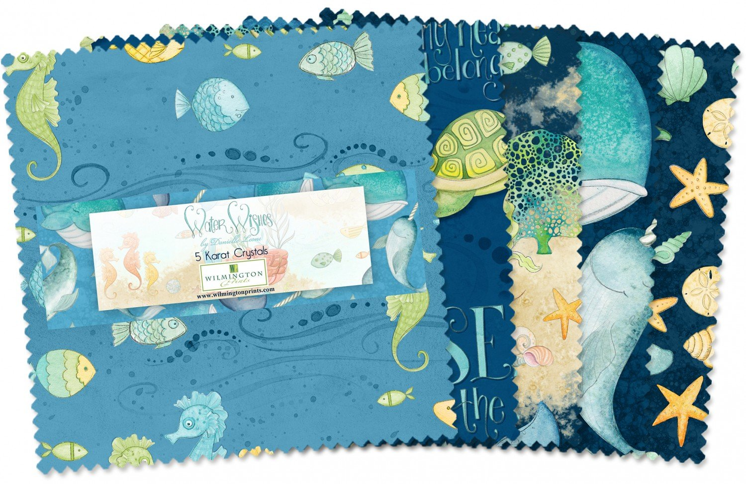 Water Wishes Charm Pack by Danielle Leone for Wilmington Prints