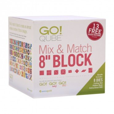 GO! Qube 8 Mix & Match Block Set