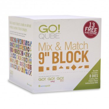 GO! Qube 9 Mix & Match Block Set