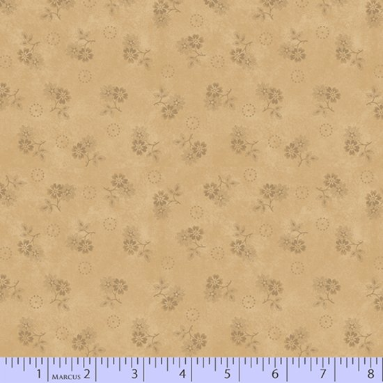 Primitive Traditions 71005-0142 Cream by Pam Buda for Marcus Fabrics