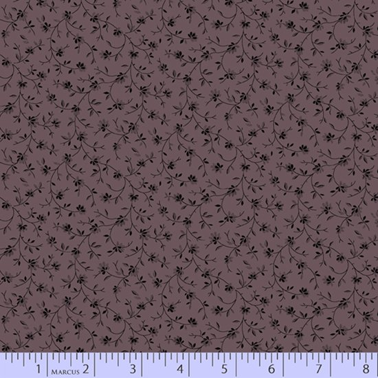 Primitive Traditions 71007-0165 Purple by Pam Buda for Marcus Fabrics