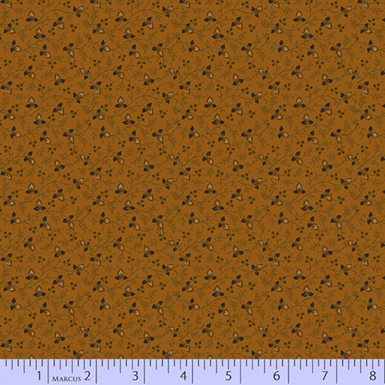 Primitive Traditions 71009-0132 Gold by Pam Buda for Marcus Fabrics