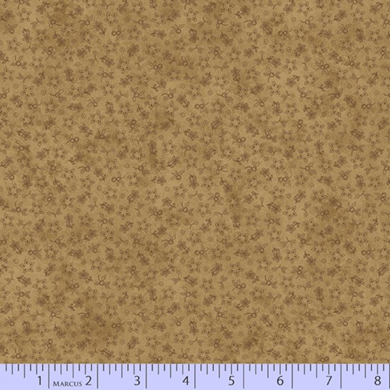 Primitive Traditions 71010-0140 Tan by Pam Buda for Marcus Fabrics