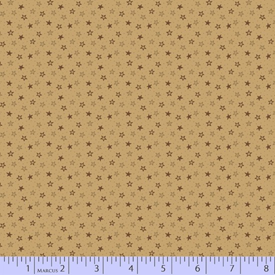 Primitive Traditions 71012-0142 Cream by Pam Buda for Marcus Fabrics