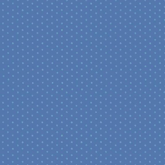 Yellow Sky R2131 Circle Dot Blue by Laura Berringer for Marcus Fabrics