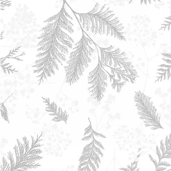 Sparkle and Fade R4565-3S-White-Silver Hoffman Fabrics