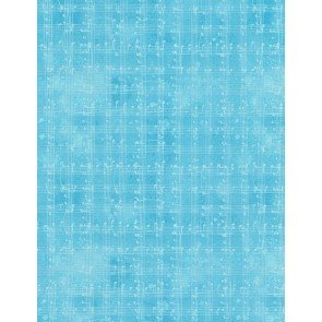 Row by Row C5935 Blue Music Notes Grid from Timeless Treasures
