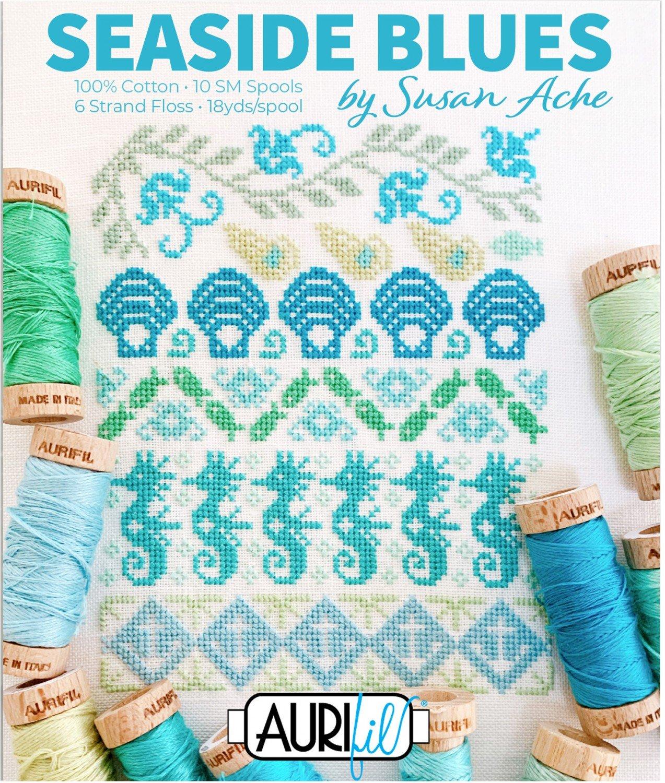 Seaside Blues Boxed Aurfloss set by Susan Ache