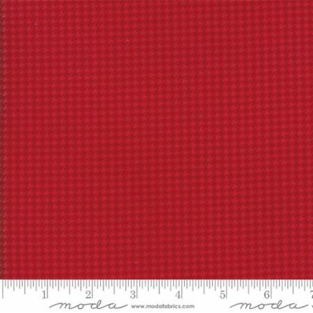 Wool & Needle VI 1252 29F Salsa Flannel Primitive Gatherings