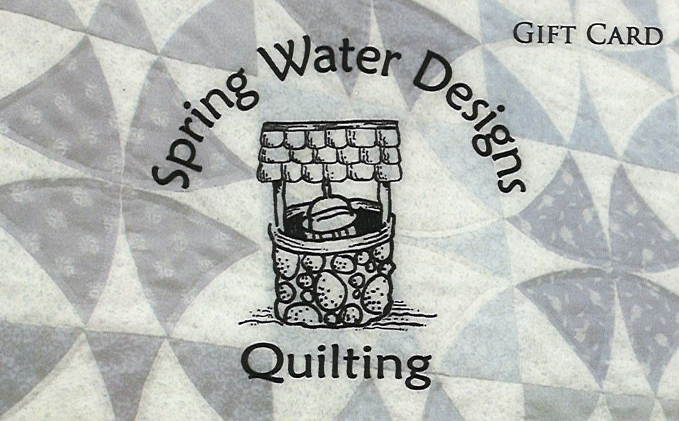 Gift Card for Spring Water Designs