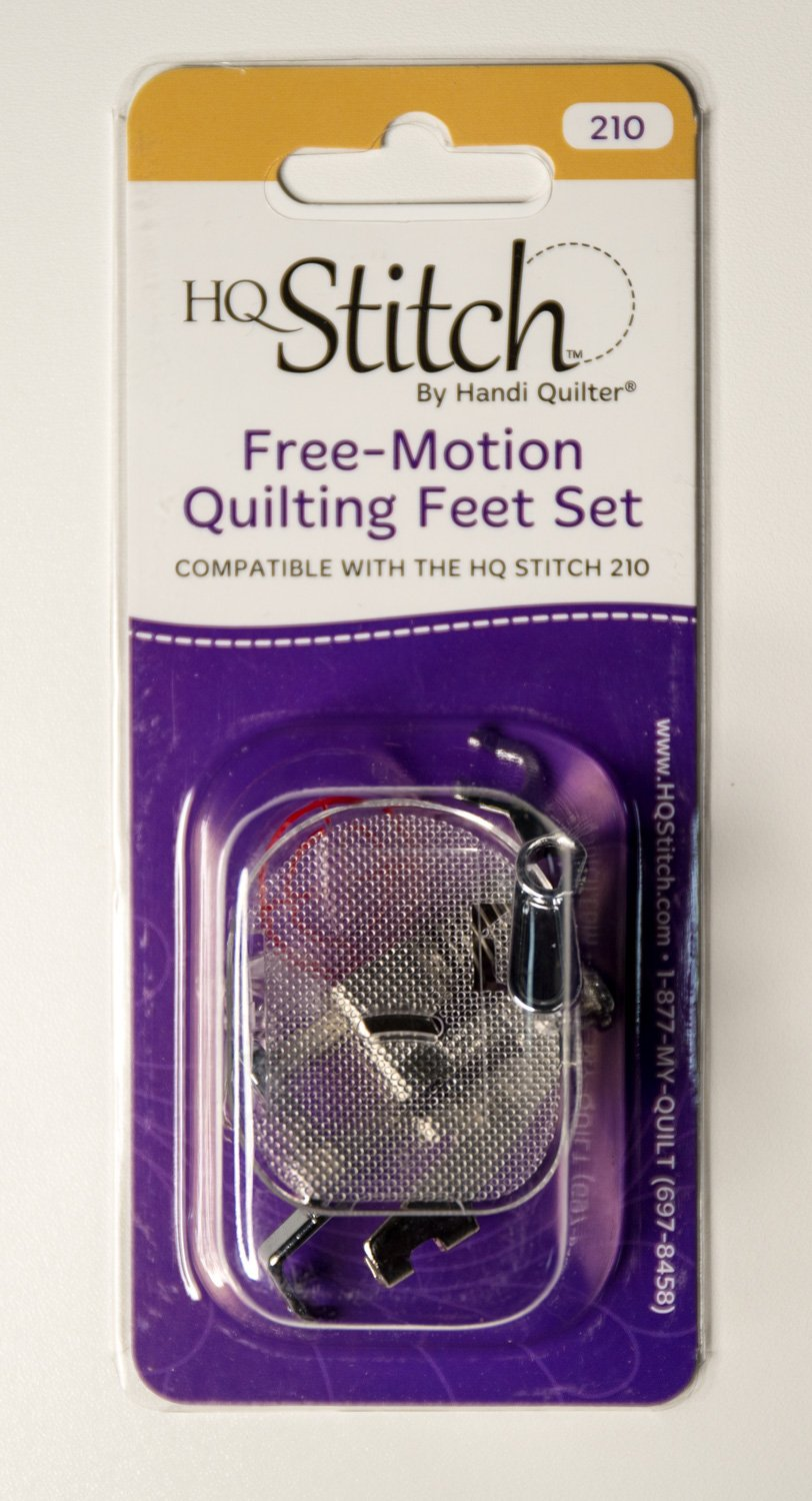 Free Motion Quilting Feet Set for HQ Stitch 210