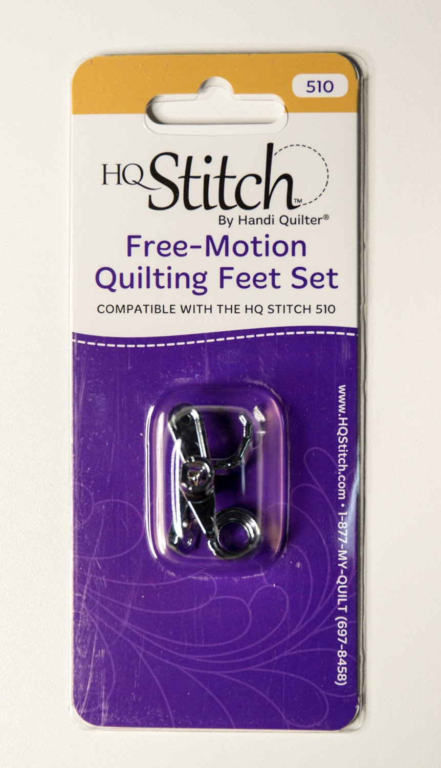 Specialized Free Motion Quilting Feet Set for HQ Stitch Machines