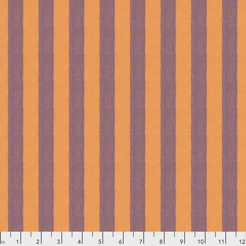 Kaffe Fassett SSGP001.CANTALOUPE New Shot Cotton Wide Stripe from Free Spirit