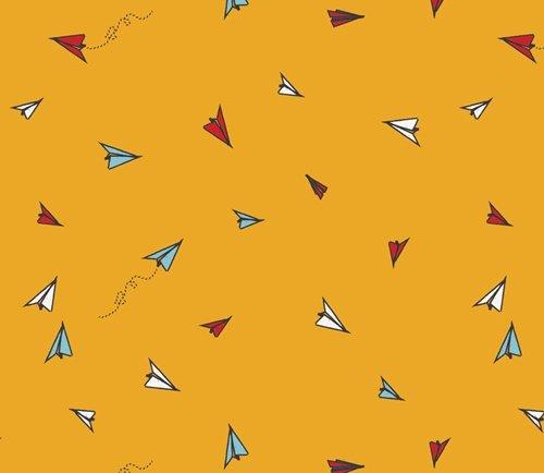 Sisu SSU-10055 Paper Plane Hopes for Art Gallery Fabrics