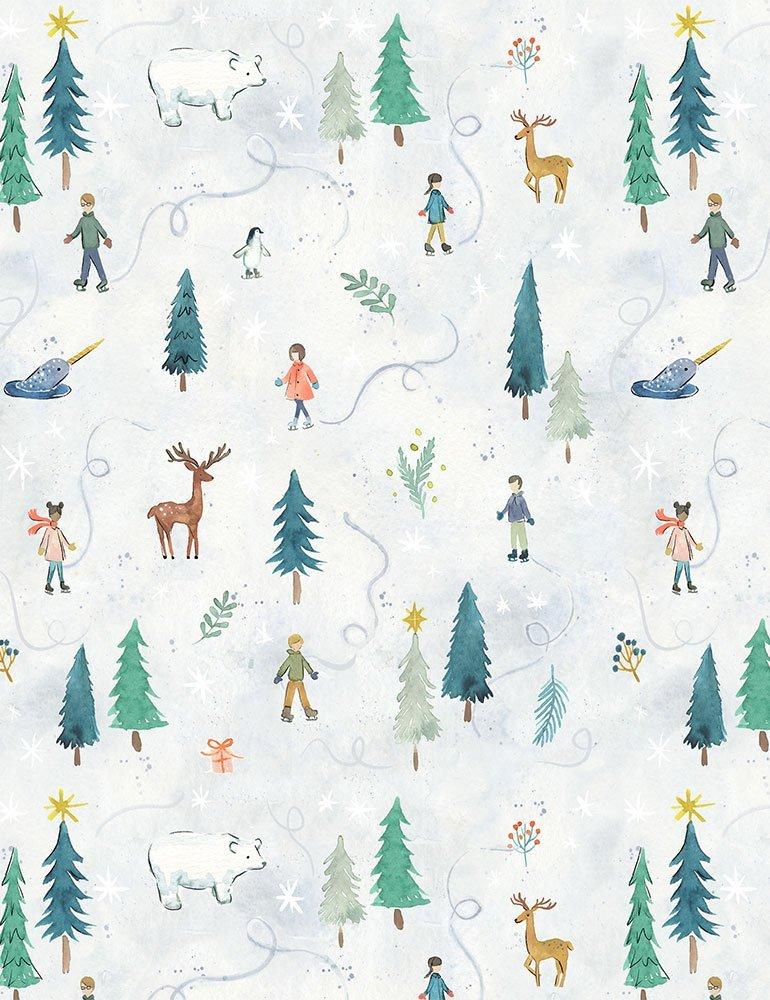 Baby, It's Cold Outside DCJ1830 Multi for Dear Stella Fabrics
