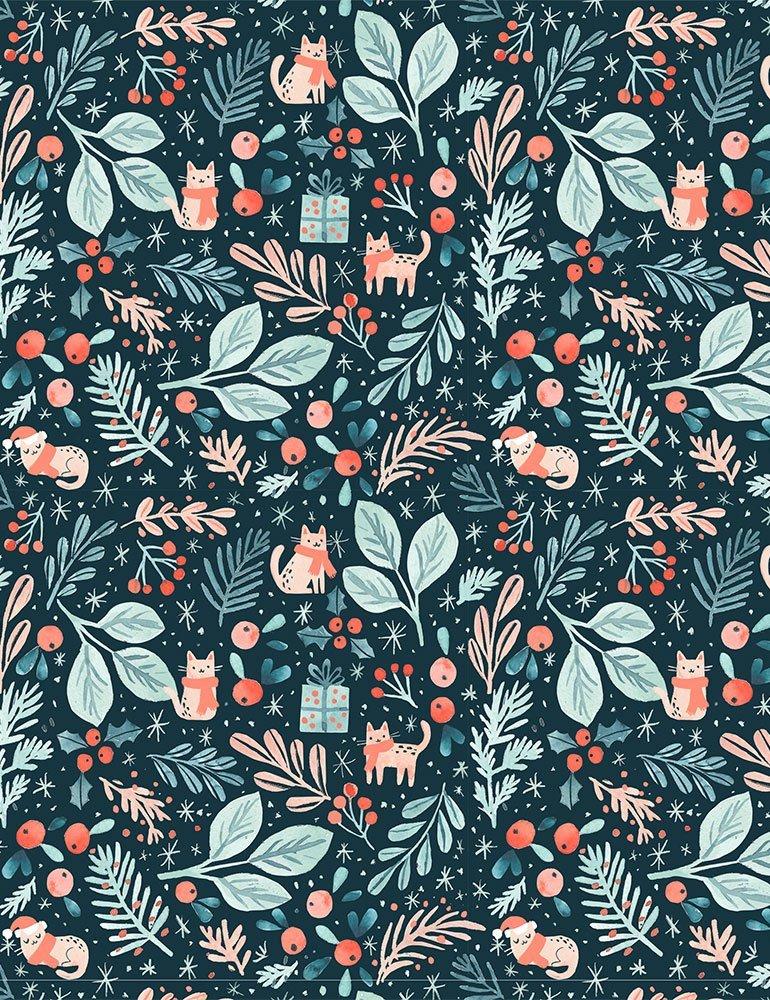 Baby, It's Cold Outside DCJ1832 Winter Wonderland for Dear Stella Fabrics