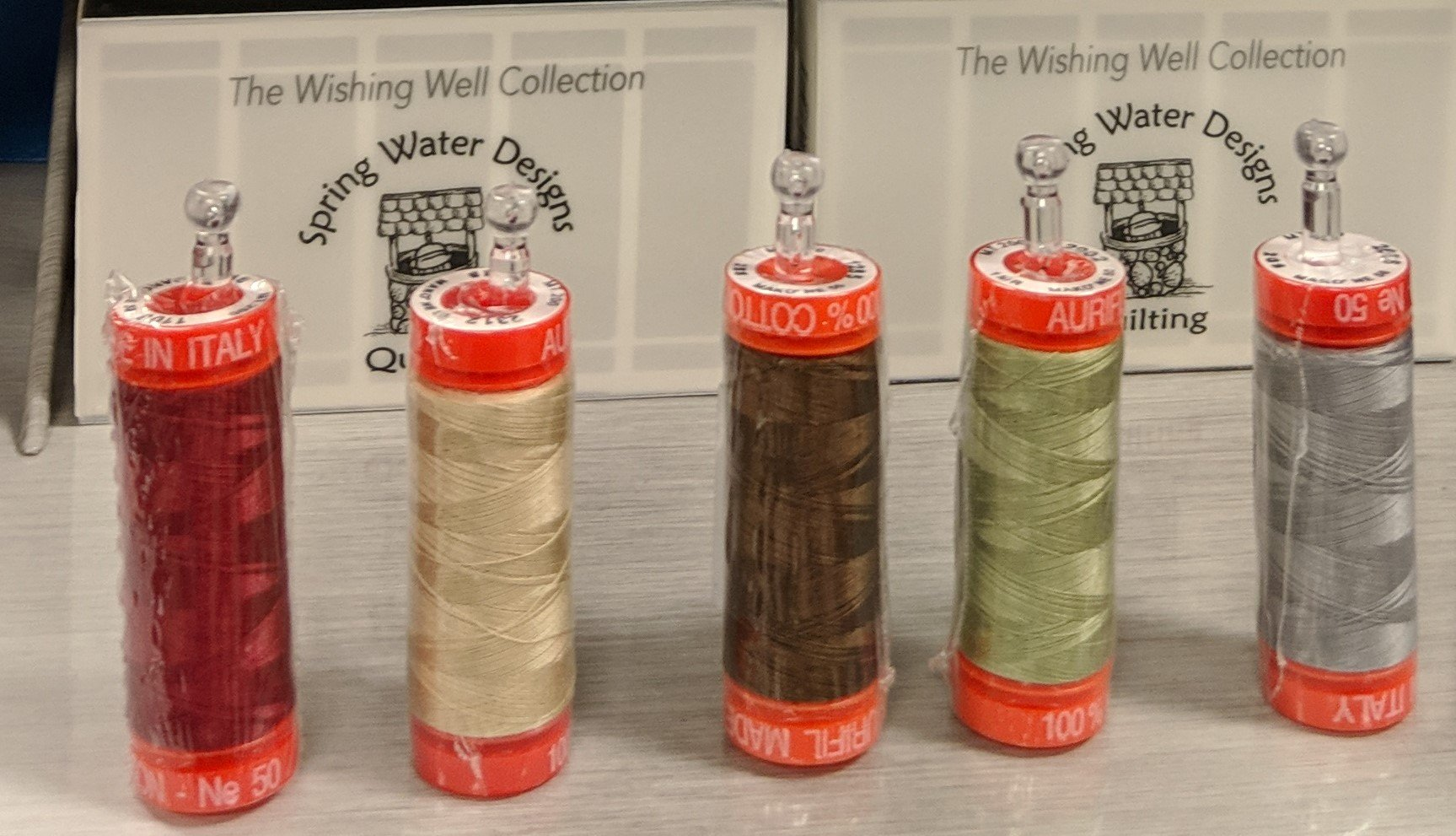 SWD Aurifil Taylor Made Wishing Well Collection