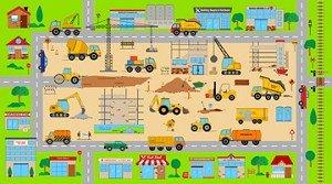 Connector Playmats 2 Panel Construction 21474-72 Northcott Fabrics