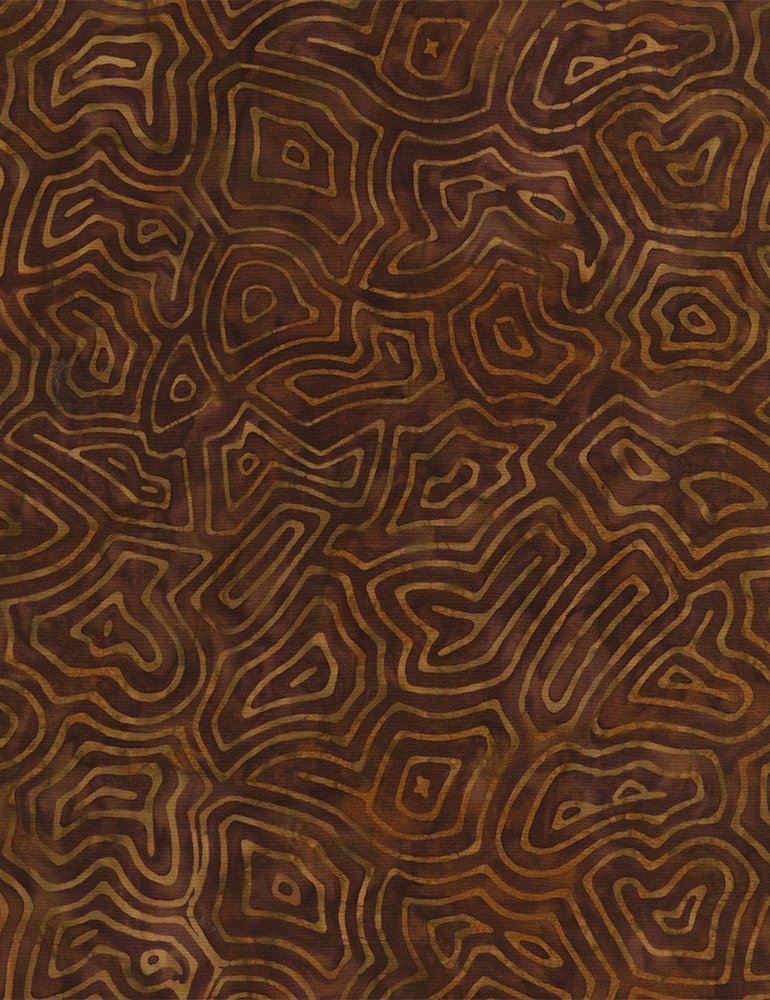 Maze Batik Tonga-B3840-Bark Timeless Treasures