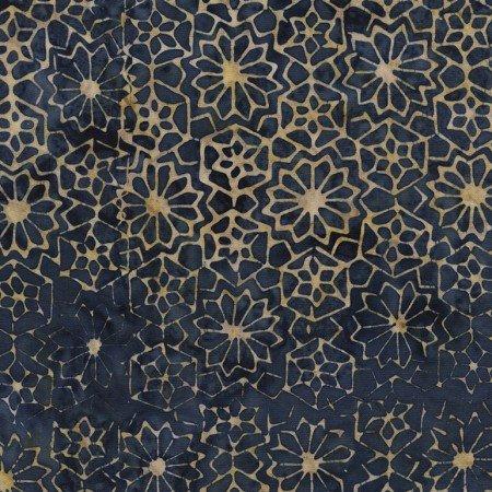 Batik Tonga Sophisticate B4438 Ocean by Daniela Stout for Timeless Treasures