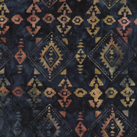 Batik Tonga Sophisticate B4902 Lake by Daniela Stout for Timeless Treasures