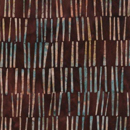 Batik Tonga Sophisticate B4956 Wine by Daniela Stout for Timeless Treasures