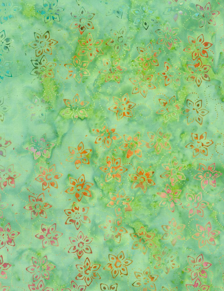 Batik Tonga B6170 Cactus Timeless Treasures