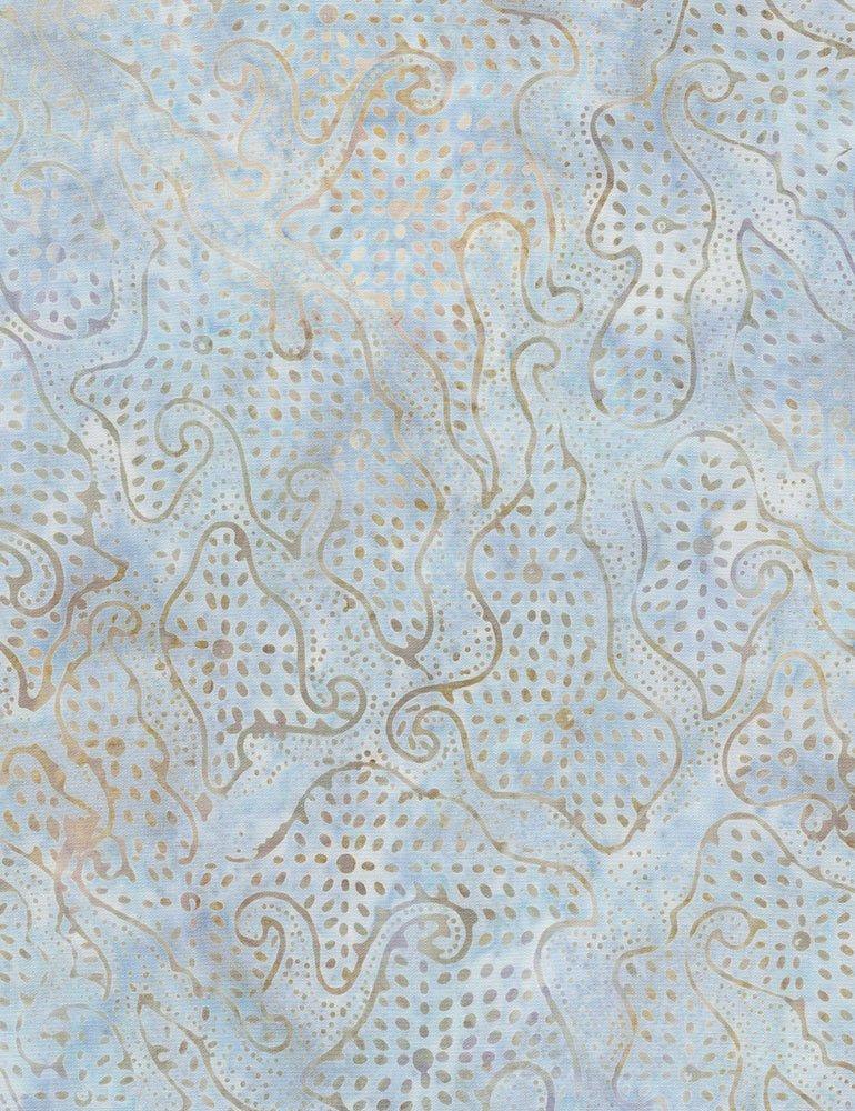 Batik Tonga Pebble B6749 Polar by Daniela Stout for Timeless Treasures