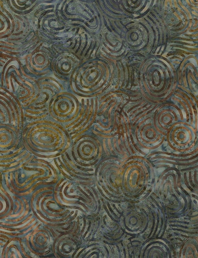 Batik Tonga B6753 Earth Timeless Treasures