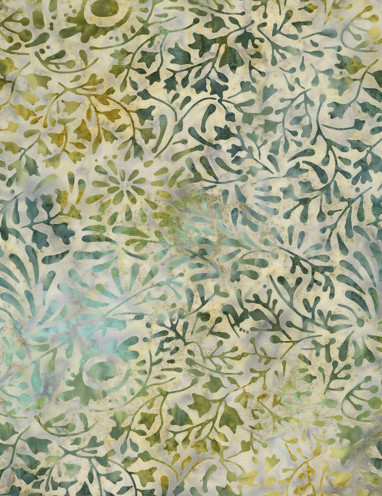Batik Tonga Pebble B6981 Seaglass by Daniela Stout for Timeless Treasures