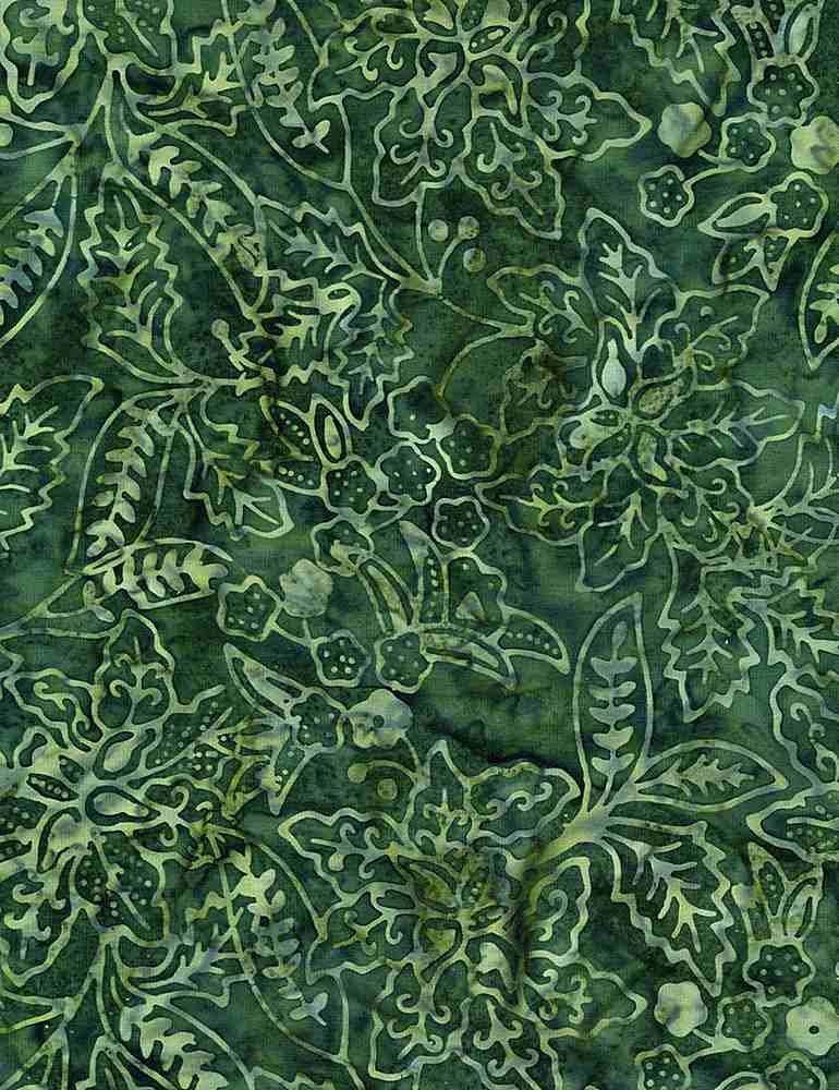 Batik Tonga B8824 Fir Timeless Treasures