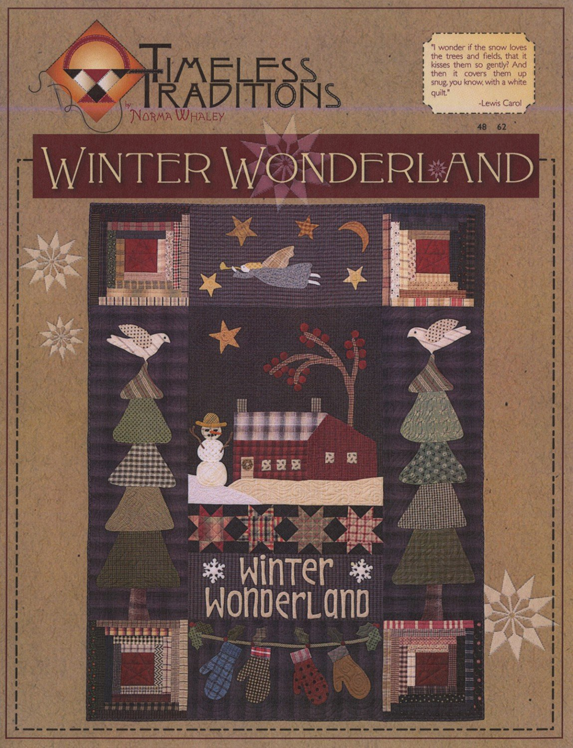Winter Wonderland Quilt pattern from Timeless Traditions